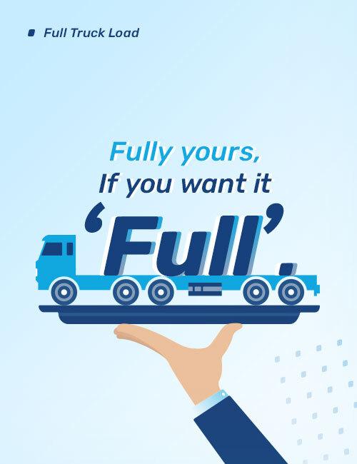 FTL Full Truck Load Cargo Service